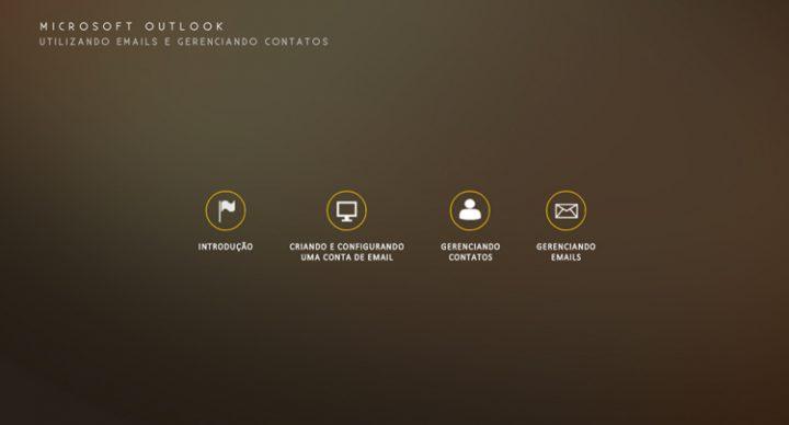 Microsoft Outlook – Utilizando e-mails e gerenciando contatos
