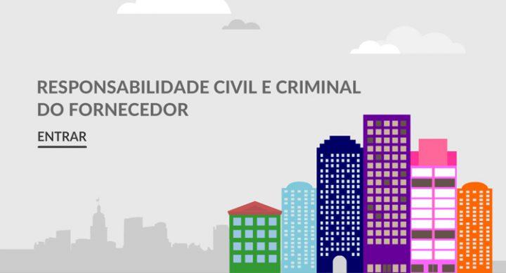 Responsabilidade Civil e Criminal do Fornecedor